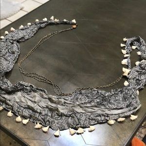 Anthropologie scarf/necklace in one